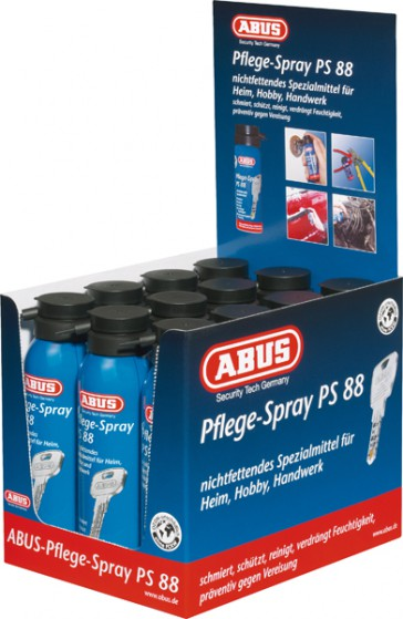 Abus VK Display PS88 Pflege Spray PK-24