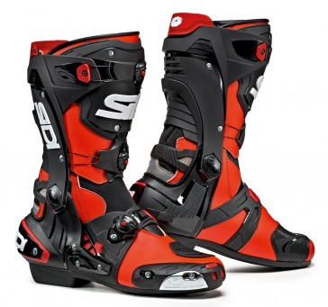 Sidi Rex Black Red Race Boots