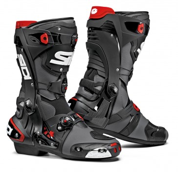 Sidi Rex Black Grey Race Boots