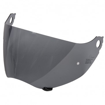 SHOEI C49 LIGHT SMOKE VISOR DRILLED AND PLUGGED FOR PINLOCK TO FIT HORNET DS