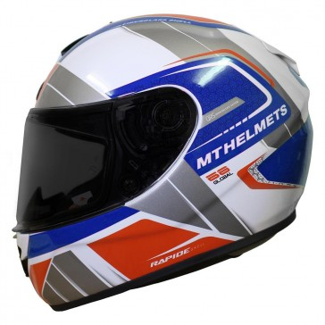 MT Rapide Global White Blue Red