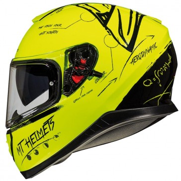 MT Thunder 3 SV Board Fluo Yellow Black