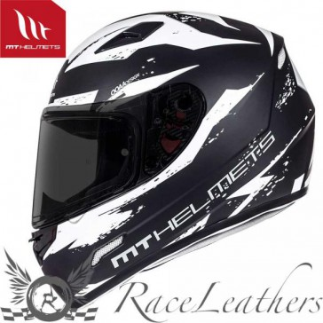 MT Mugello Vapour Matt Black White