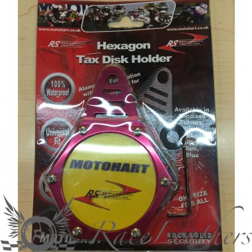 RS Tax Disc Holder Red