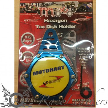 RS Tax Disc Holder Blue