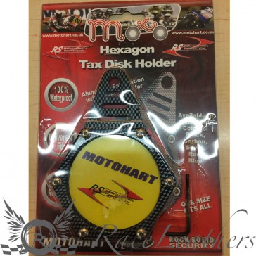 RS Tax Disc Holder Carbon