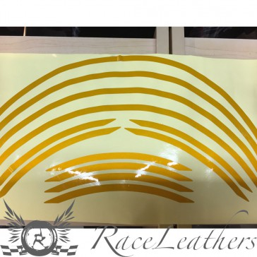 RS Wheel Stripes Gold