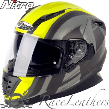 Nitro NRS 01 Pursuit DVS Satin Gunmetal Yellow