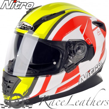 Nitro NRS 01 Pursuit DVS White Yellow Red