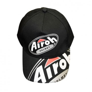 Airoh Cap - Black/Red/White