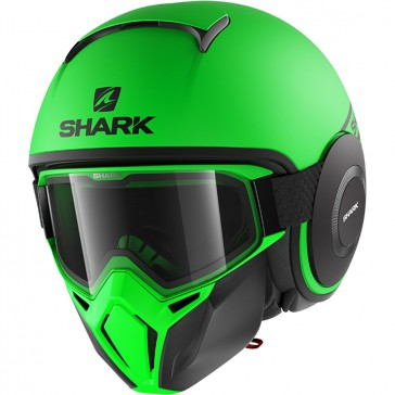 Shark Drak Street Neon Matt Green
