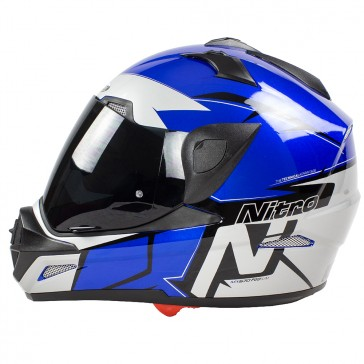 Nitro MX670 Podium Adventure DVS Black Blue Silver