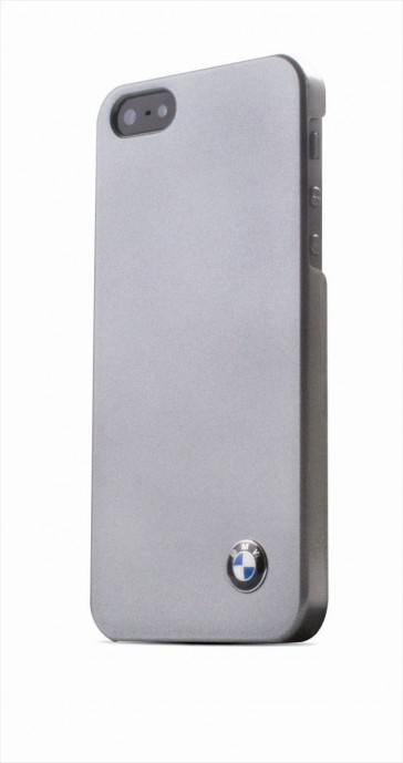 Interphone BMW Phone IPHONE 5S Case Cover Metalic Silver