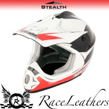 Stealth Helmet HD204 MX Stealth GP Replica Red