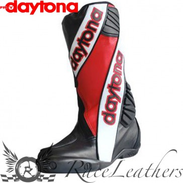 Daytona Security Evo Outer Boots - Black White Red