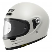 Shoei Glamster Off White Classic Retro Motorcycle Helmet