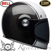 Bell Bullitt Carbon Carbon Pierce Black White