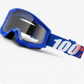 100% Strata Youth Goggle Nation Clear Lens
