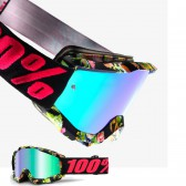 100% Accuri Goggles Chapter 11 Mirror Green Lens