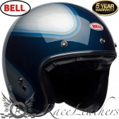 Bell Custom 500 Deluxe Carbon Jager Candy Blue