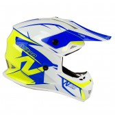 Nitro MX620 Podium White Blue Yellow