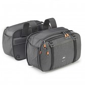 Kappa Alpha Pair of Expandable Side Bags 16 > 25 L