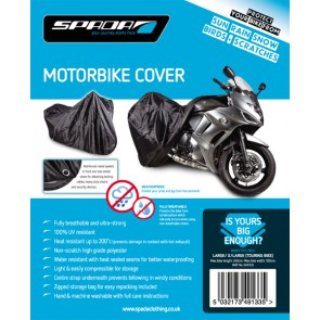 Spada Motorcycle Rain Coverlarge/Xl [Touring No Luggage]