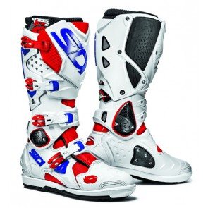 Sidi Crossfire 2 SRS Red White Blue