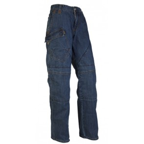 HORNEE SAM11 DARK KNIGHT BLUE SHORT KEVLAR JEANS