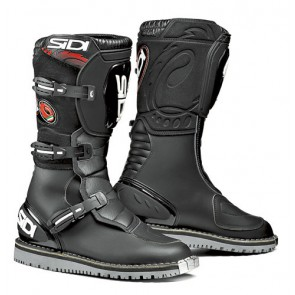 Sidi Courier Microfibre Black Trials Boots