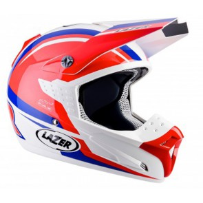 LAZER SMX NATIONS RED WHITE BLUE HELMET