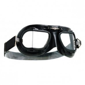 Halcyon MK9 Black Retro Racing Goggles
