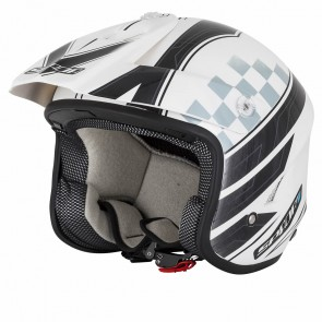 Spada Explorer Trials Helmet White Black