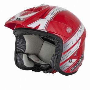 Spada Explorer Trials Helmet Red