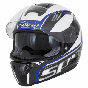 Spada SP16 White Blue Helmet