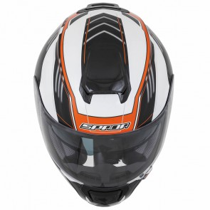 Spada SP16 White Orange Helmet