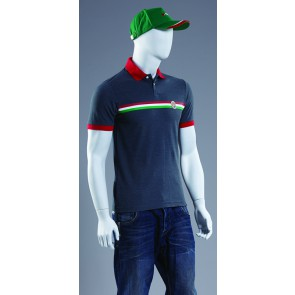 SIDI CASUALS POLO SHIRT HERITAGE GREY