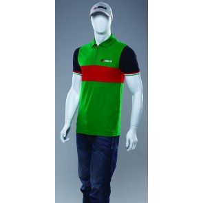 SIDI CASUALS ZIPPER NECK GREEN RED