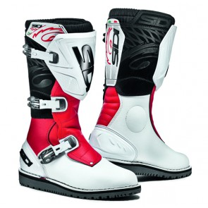 Sidi Trial Zero 1 White Red