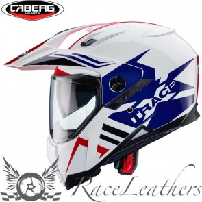 Caberg X Trace Lux Jack Red White Blue