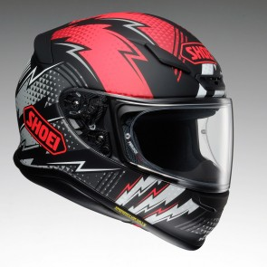 Shoei NXR Variable Red Black
