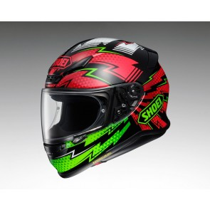 Shoei NXR Variable Red Green