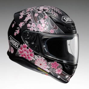 Shoei NXR Harmonic Pink Black