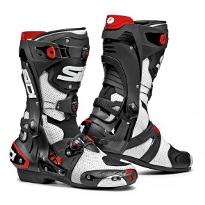 Sidi Rex Air White Black Race Boots