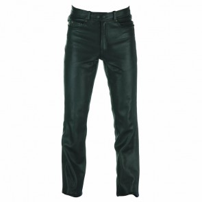 Spada Men Western Leather Trousers