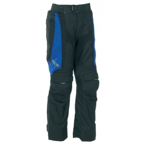 SPADA DUO TECH BLUE ADJUSTABLE LEG TROUSERS