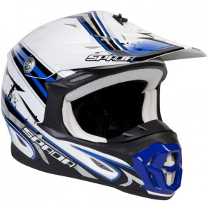 SPADA VIOLATOR HAWK BLUE HELMET