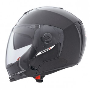 CABERG HYPER X FULL / OPEN FACE METAL BLACK