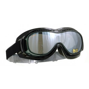 HALCYON MK5 VISION OVER GLASSES STYLE SMOKE LENS GOGGLES