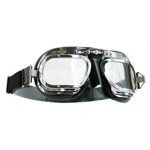 Halcyon MK10 Deluxe Curved Lens Chrome Black